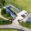 The Cottages from way up high. #selfcateringaccommodation #hertfordshire